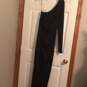 Venus one shoulder evening dress